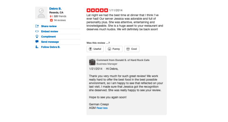 example-responding-to-restaurant-review