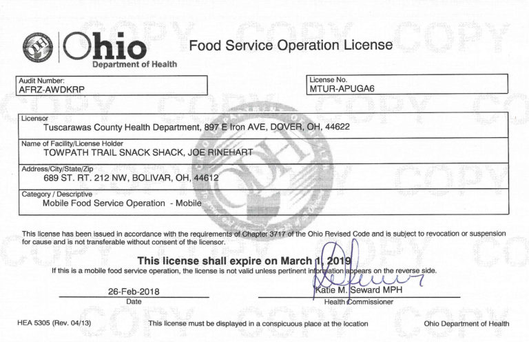 food-service-license-example