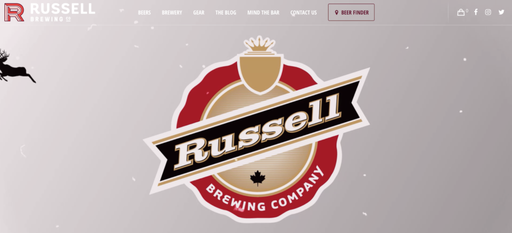 russell-brewing-website-design
