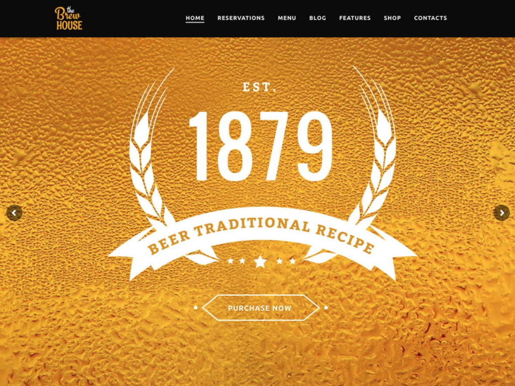 brew-house-template-wordpress