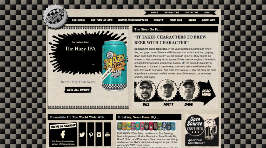 ska-brewing-website-design