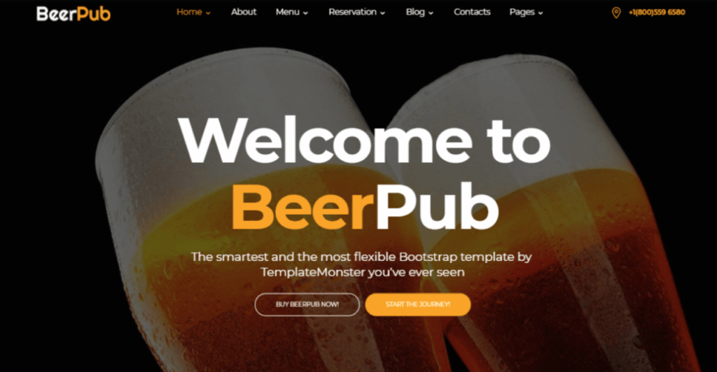 beerpub-template-templatemonster