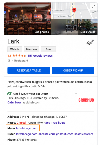 google-my-business-menu-link-example